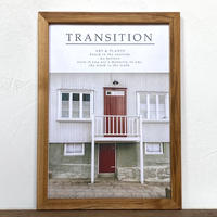 Untitled「Transition 北欧」  A4 ポスター アート & 木製 アンティーク 額縁
