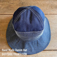デニム ハット ハンドメイド 帽子