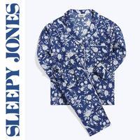 SLEEPY JONES Henry Pajama Set 「Indigo Wallpaper Floral」 レディース パジャマ スリーピージョーンズ