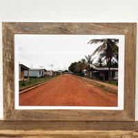 Road「Transition 南米」 A4 ポスター & 木製 ポスターフレーム 壁掛け