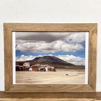 Mount「Transition 南米」 A4 ポスター & 木製 ポスターフレーム 壁掛け