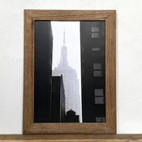 Empire「NYシリーズ」 A4 ポスター & 木製 アンティーク 額縁