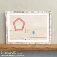 「Near Light」 北欧 インテリアポスター A4 + ポスターフレーム アンティーク 部屋 飾り 壁飾り インテリア 廊下 階段 寝室 子供部屋