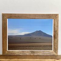 Dali「Transition 南米」 A4 ポスター & 木製 ポスターフレーム 壁掛け