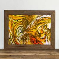 Tiger「グラフィック」古材フレーム + A4  ポスター プリント