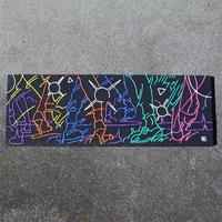 虹色ディスコティック キャンバスアート