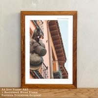 アートポスター A4 + ポスターフレーム 古材 「 Greco 」It's all about Toledo No.7