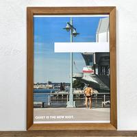 Quarantine 「NYシリーズ」 A4 ポスター & 木製 ポスターフレーム