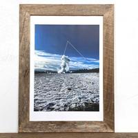 Vanila Sky「幾何学」 A4 プリント ポスター アート & 木製 アンティーク 額縁