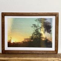 Weathering「オイルペイント」  A4 ポスター & 木製 ポスターフレーム