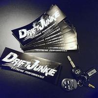 DRIFT JUNKIE STICKER - ドリフトジャンキー ステッカー / JDM D1 ストリート