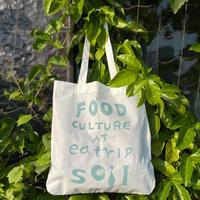 """eatrip soil tote bag    """" FOOD  CULTURE AT eatrip soil """""""