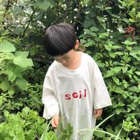 "eatrip soil T-shirt "" FOOD  CULTURE AT eatrip soil ""    red"