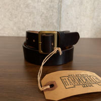 RAGTIME LEATHER BELT NARROW 25mm