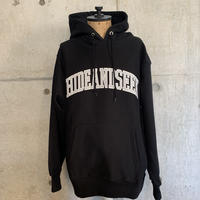 HIDEANDSEEK College Logo Hooded Sweat Shirt