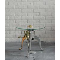 ASPLUND GLASS SIDE TABLE