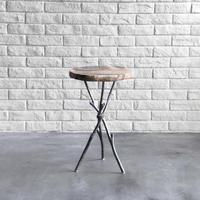 Twiggy Petrified wood Side Table  S