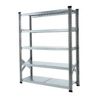 METALSISTEM  5TIER STEEL SHELF W1200