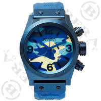 ETERNO CHRONO CAMOUFLAGE BLUE 日本限定:BRETC4521CM