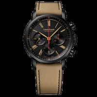 Louis Erard / Excellence Chronograph Guilloche Black & Sand / LE71231NN32BVDN17