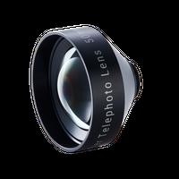 広角・望遠両方のiPhoneカメラを1.8倍に「Tele Lens Rib Case (+BLM) for iPhone XS/テレレンズ」
