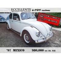 【OHV customs】【フォルクスワーゲン】'97 MEXICO(ホワイト x タンインテリア / LH)