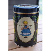 【北欧ヴィンテージ】【イヤマ】イヤマちゃん レトロブリキ缶 大