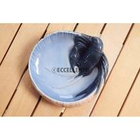 【北欧ヴィンテージ】【ロイヤルコペンハーゲン】アールヌーボーの飾り皿 ザリガニ