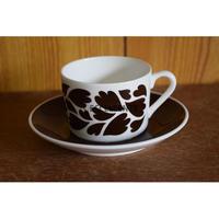 【北欧ヴィンテージ】【グスタフスベリ】アンキ コーヒーカップ&ソーサー