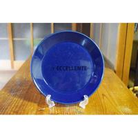 【北欧ヴィンテージ】【アラビア】【カイ・フランク】キルタ プレート21cm ブルー