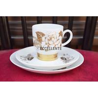 【北欧ヴィンテージ】【アラビア】【ライヤ・ウオシッキネン】クルタルース コーヒーカップトリオ