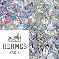 "HERMES 壁紙 エルメス ""ANIMAUX CAMOUFLES"" 1ロール (10m)"