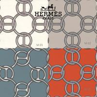 HERMES 壁紙 エルメス フィルダルジャン(Hermes Fil D'argent)