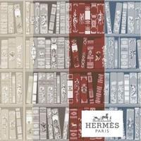 HERMES 壁紙 エルメス エルメス 図書館 (Hermes Bibliotheque )