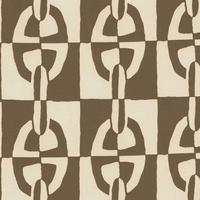 "Hermes エルメス  カーテン、装飾、家具用 生地  "" OPTIQUE CHAINE D'ANCRE"""