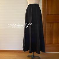 プリーツ風スカートの型紙(ダウンロード)