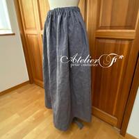 ギャザースカートの型紙(ダウンロード)