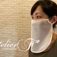 エレガントフェイスマスクの型紙(ダウンロード)