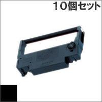 ERC-30 ( B ) ブラック インクリボン カセット EPSON(エプソン) 汎用新品 (10個セットで、1個あたり870円です。)