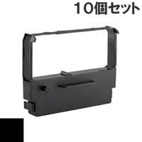 BRE101S / BRJ121S ( B ) ブラック インクリボン カセット BROTHER (ブラザー) 汎用新品 (10個セットで、1個あたり900円です。)
