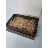 贈り物に最適 オリジナルデザイン包装箱 <<ノベルティクッキー 17~22 枚用 Lサイズ>>
