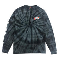 RAPTEES LOGO TIEDYE LS TEE/RT-IN009LS