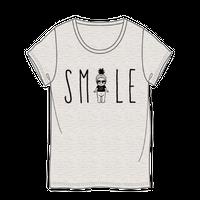 スマイルTシャツ オートミール / SMILE T-Shirt Oatmeal