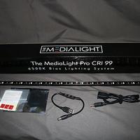 MediaLight Pro Fixture(51cm)  6500K Bias Light. CRI 99