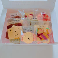 動画レッスン 手作りクッキーキット(ラッピング用品、乾燥剤付き)