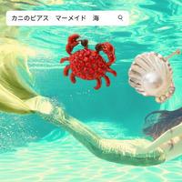【大人気♡】マーメイド ピアス / シルバー