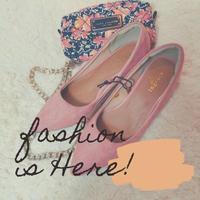 【靴ずれ軽減♡機能】ふんわりパンプス /pink (24cmのみ)