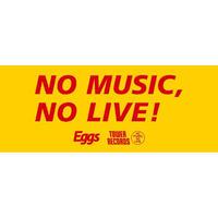 NO MUSIC, NO LIVE! タオル
