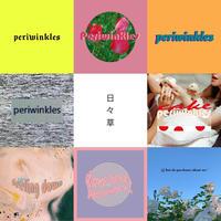 periwinkles /  オリジナルステッカー