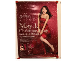 May J. 直筆サイン入り Christmas ポスター